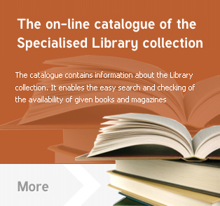 [EN]The on-line catalogue of the Specialised Library collection